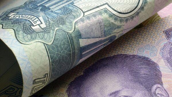 Рубль и юань. Архивное фото