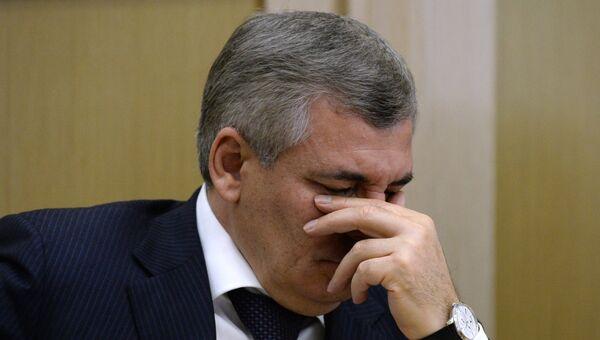 Член комитета Совета Федерации РФ по экономической политике Евгений Тарло. Архивное фото