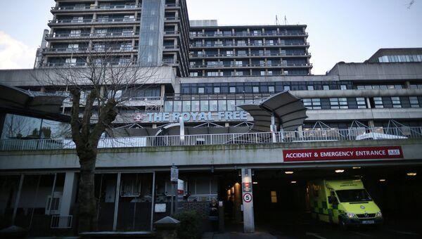 Больница Royal Free Hospital в Лондоне. Архивное фото