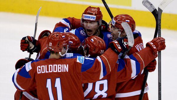 Хоккей. Молодежный ЧМ. Матч Швеция - Россия