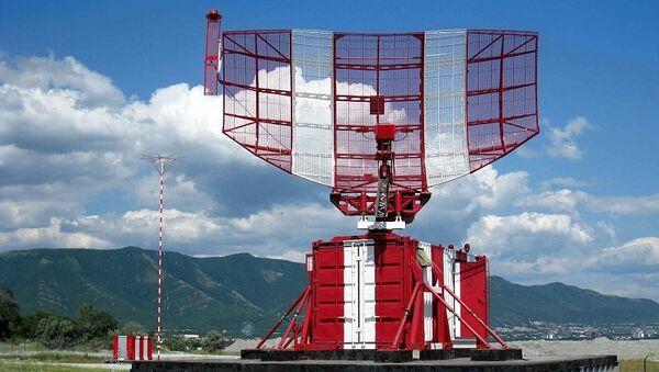 Аэродромный обзорный первичный радиолокатор АОРЛ-1АС. Архивное фото