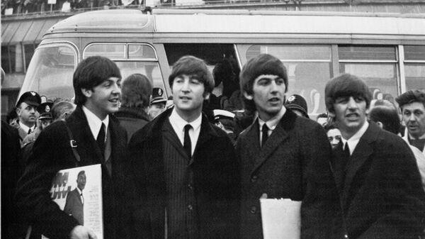 The Beatles. Аэропорт Лондона. 1964 год