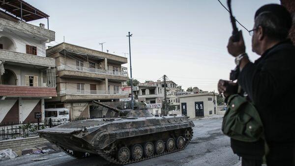 Ситуация в сирийском городе Маалула. Архивное фото
