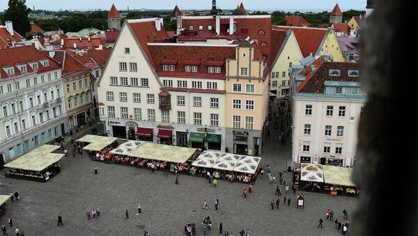 Таллин, Ратушная площадь. Архивное фото