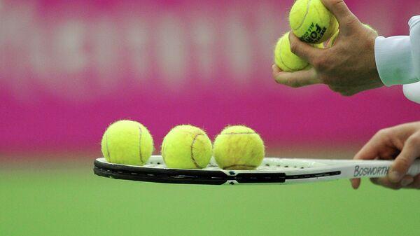 Теннисные мячи. Архивное фото