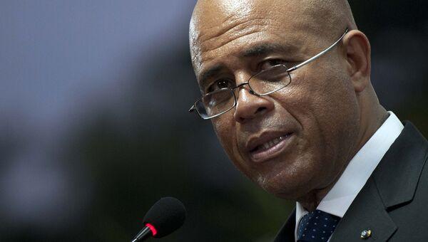 Президент Гаити Мишель Мартелли