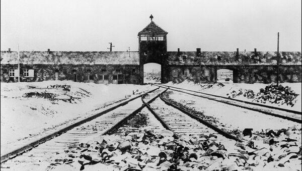 Концентрационный лагерь Освенцим, архивное фото