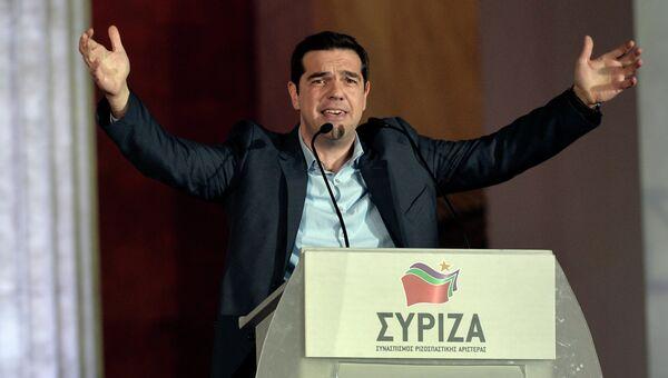 Лидер греческой партии СИРИЗА Алексис Ципрас. Архивное фото.