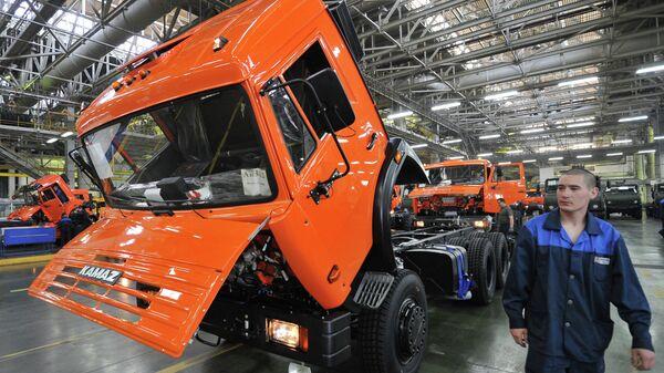 Автомобильный завод ОАО КАМАЗ. Архивное фото