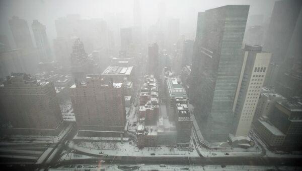 Снег в Манхэттене