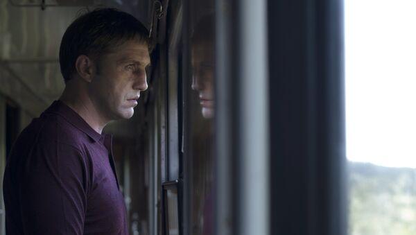 Актер Владимир Вдовиченков (Дмитрий Селезнёв) на съёмках фильма Левиафан. Архивное фото