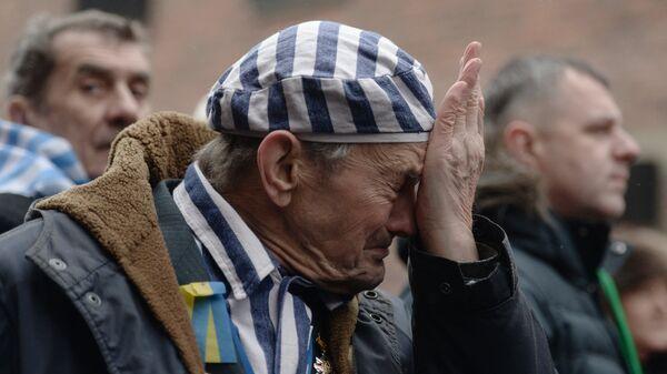 Бывший узник концентрационного лагеря Аушвиц Игорь Малицкий