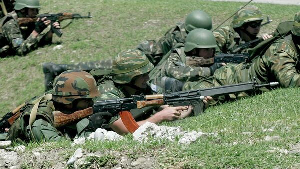 Учения НАТО Cooperative Longbow 09/Cooperative Lancer 09 завершаются в Грузии. Архивное фото