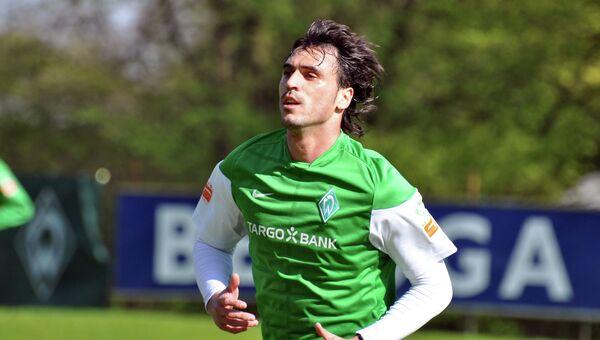 Португальский футболист Угу Алмейда. Архивное фото