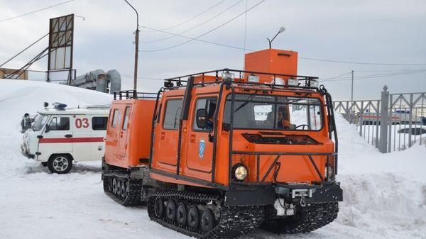 Вездеход МЧС, предназначенный для перевозки людей и оборудования по любой местности