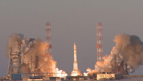 Ракета-носитель Протон-М с космическим аппаратом Инмарсат-5Ф2