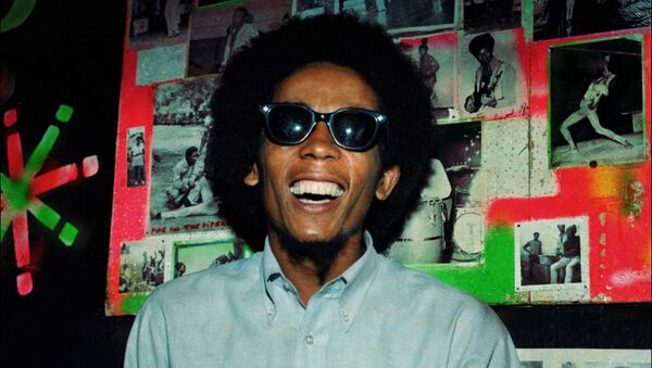 Ямайский музыкант Боб Марли