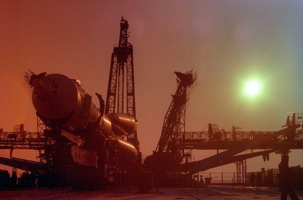 Транспортировка корабля Союз-39