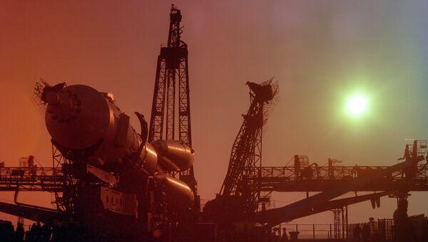 Транспортировка корабля Союз-39. Архивное фото