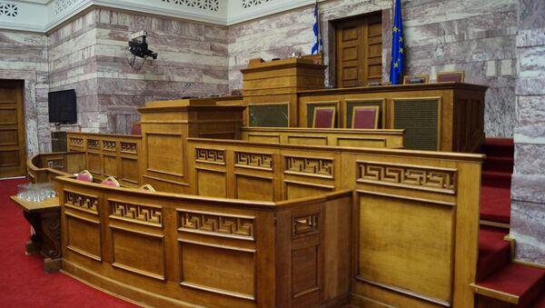 Парламент Греции. Архивное фото