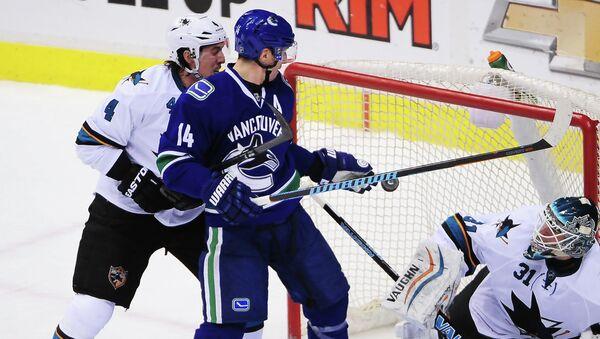 Матч Сан-Хосе Шаркс - Ванкувер Кэнакс в НХЛ, 5 февраля 2015