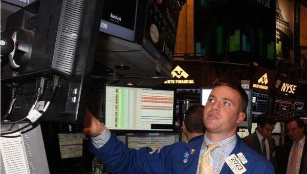 В здании Нью-Йоркской фондовой биржи
