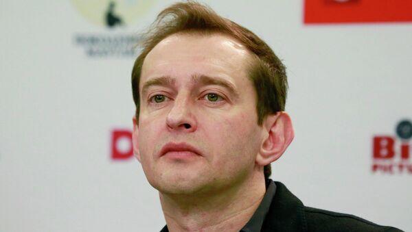 Актер Константин Хабенский на пресс-конференции в МИА Россия сегодня