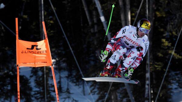 Австрийский лыжник Марсель Хиршер
