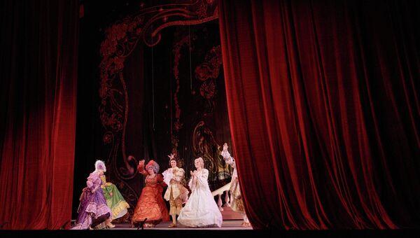 Сцена из спектакля Золушка Донецкого театра