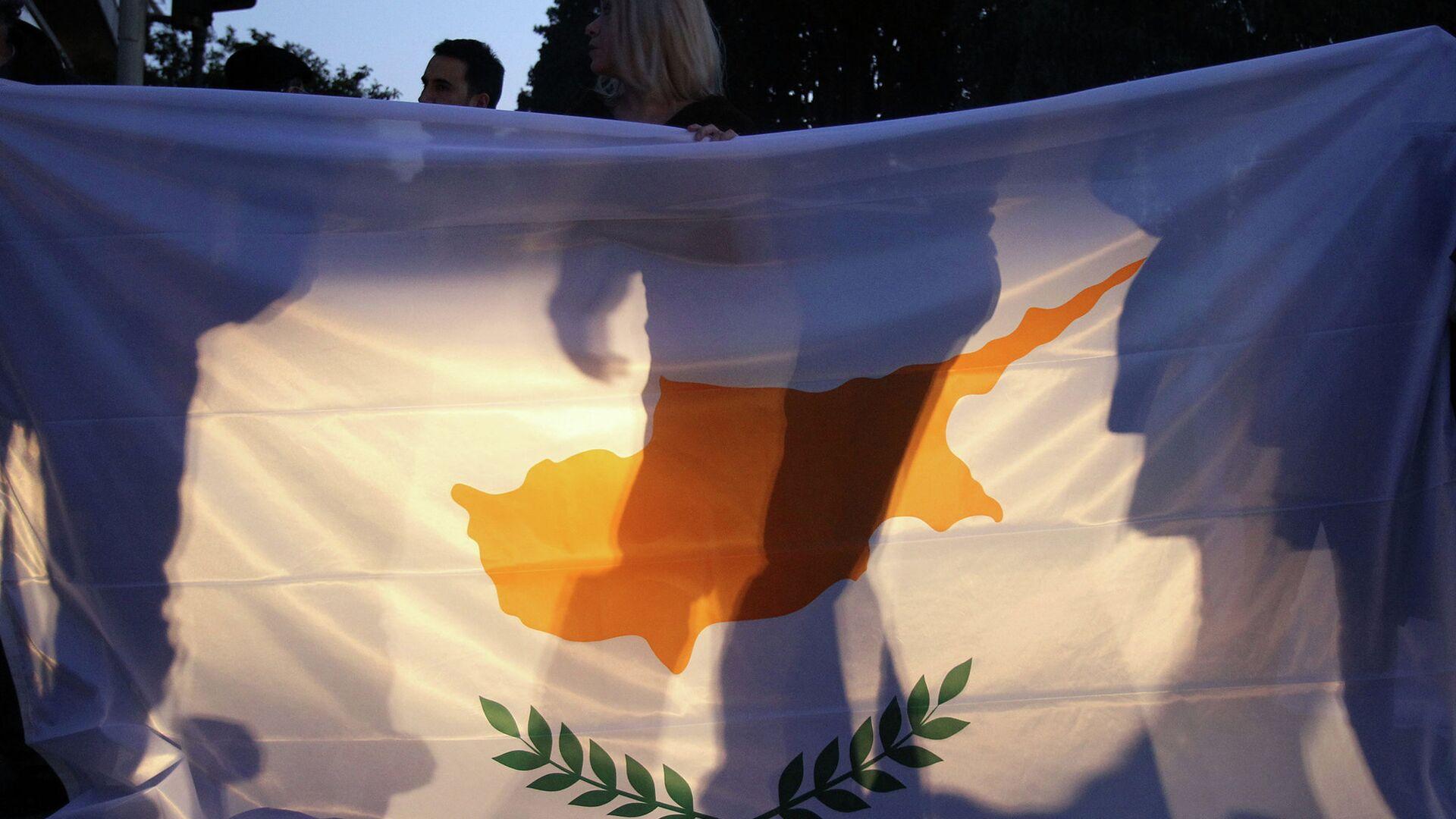 Флаг Кипра - РИА Новости, 1920, 01.11.2020