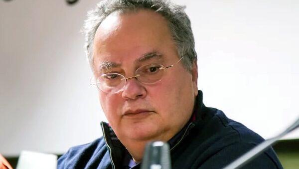 Министр иностранных дел Греции Никос Коциас