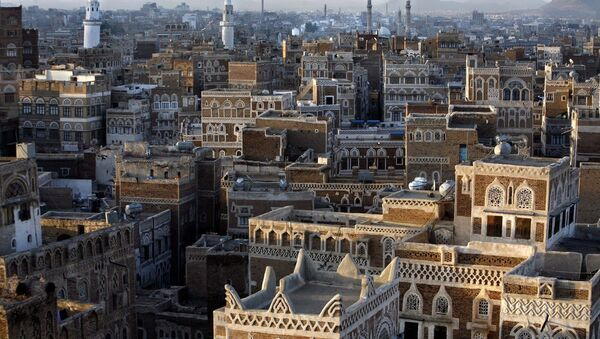 Столица Йемена Сана, архивное фото