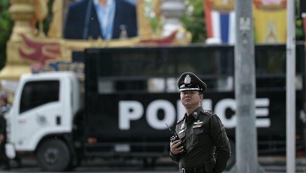 Офицер полиции Таиланда. Архивное фото