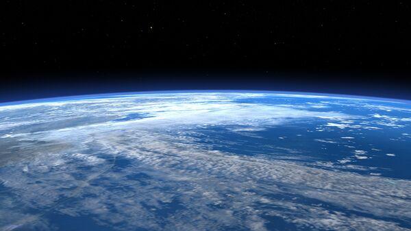 Вид на планету Земля из космоса. Архивное фото
