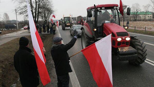 Польские фермеры. Архивное фото