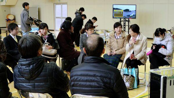 Эвакуация в Японии после землетрясения в префектуре Иватэ