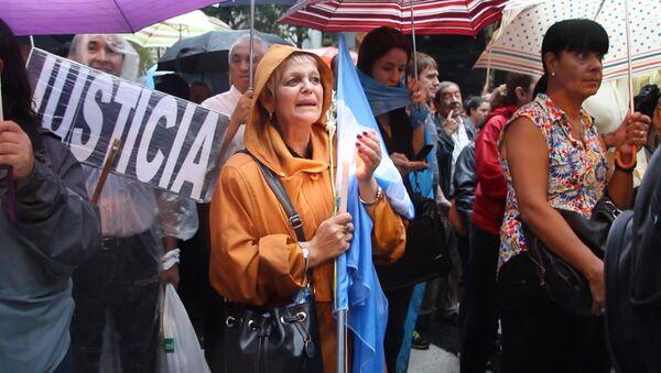 Сотни тысяч жителей Буэнос-Айреса вышли на марш в память о прокуроре Нисмане