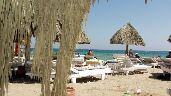 Пляж отеля Жасмин в египетской Хургаде