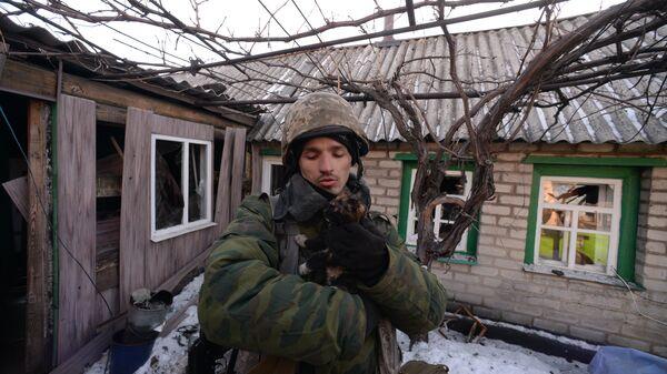 Ополченец Луганской народной республики (ЛНР)