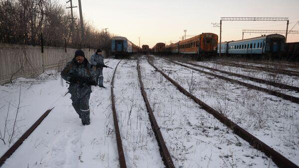 Ополченцы Луганской народной республики (ЛНР). Архивное фото