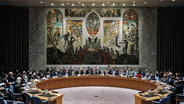 Заседание Совбеза ООН. Архивное фото