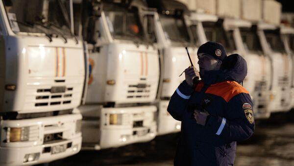 Отправка гуманитарного конвоя для юго-востока Украины. Архивное фото