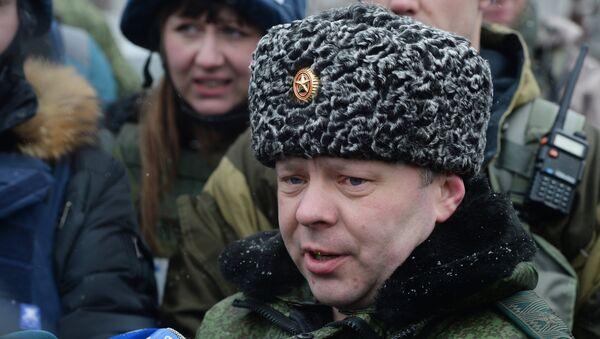 Министр обороны Донецкой народной республики (ДНР) Владимир Кононов. Архивное фото