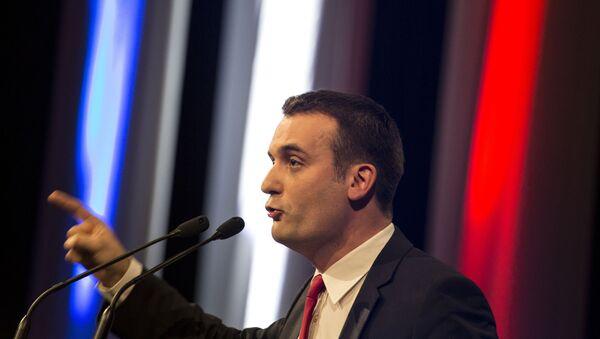 Вице-президент французской партии Национальный фронт Флориан Филиппо. Архивное фото