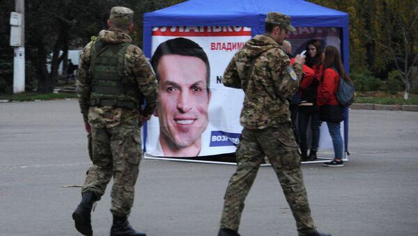Украинские военнослужащие в Славянске, Украина. Архивное фото