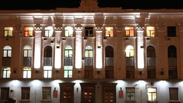 Здание Совета министров Республики Крым в Симферополе. Архивное фото