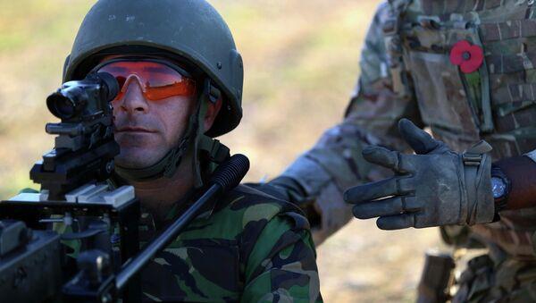 Британские военные. Архивное фото