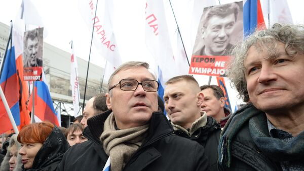 Сопредседатель партии РПР-ПАРНАС Михаил Касьянов. Архивное фото