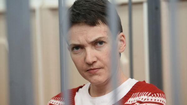Украинская летчица Надежда Савченко, архивное фото