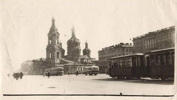 Церковь Успения Пресвятой Богородицы на Сенной площади в Санкт-Петербурге